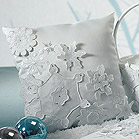 Winter Finery Ring Pillow
